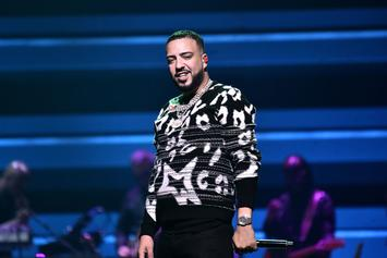 French Montana Gets Joe Biden & Kamala Harris Birthday Cake