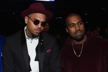 Did Kanye West Just Give Chris Brown A Tank?