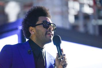 """The Weeknd's """"Blinding Lights"""" Spends Entire Year On Hot 100 & Extends Record"""