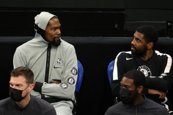 "KD Trolls Kyrie Irving After Sage Burning: ""He Probably Sages His Room Before 2K"""