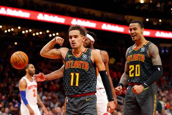 Trae Young Calls Out Grayson Allen On Twitter After Tripping Incident