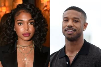 Lori Harvey & Michael B. Jordan Spotted Exiting Plane In Utah Ahead Of NYE
