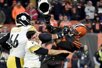 Mason Rudolph & Myles Garrett Make Amends After Last Year's Brutal Fight