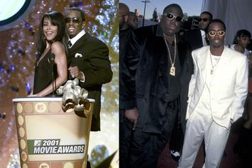 Diddy Remembers Aaliyah And Biggie In Classic 1994 Throwback Photo