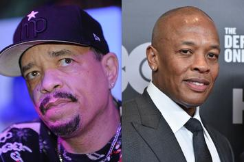 Ice-T Provides Update On Dr. Dre