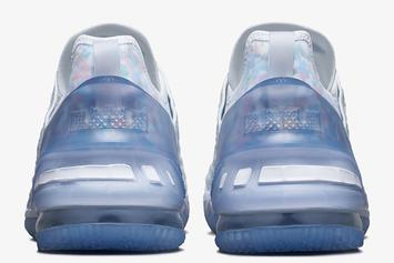 """Nike LeBron 18 """"Blue Tint"""" Coming Soon: Official Photos"""