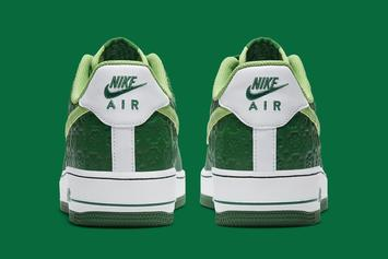 """Nike Air Force 1 Low """"St. Patrick's Day"""" Coming Soon: Photos"""