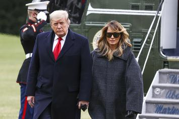 Melania Trump Delivers Final Address As First Lady, Side-Steps Capitol Hill Riot
