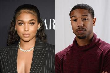 Lori Harvey & Michael B. Jordan Look Happier Than Ever In Boob-Grabbing Photo