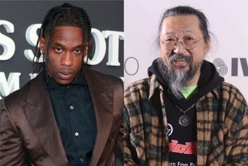 "Takashi Murakami Clears Up Travis Scott ""Bootleg"" Chain Drama"