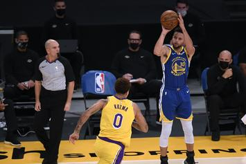 Steph Curry Passes Reggie Miller For 2nd Most 3-Pointers In NBA History