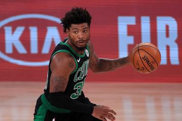 Marcus Smart To Undergo MRI After Scary Calf Injury
