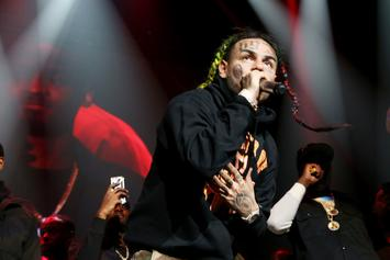 6ix9ine Taunts Rappers With New Song