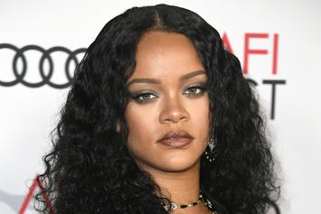 Rihanna Goes Topless And Credits Popcaan Lyrics For Inspo