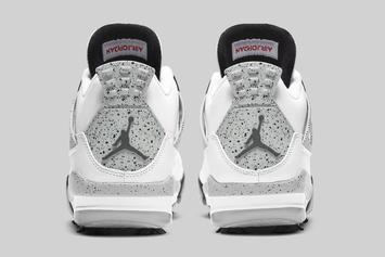 "Air Jordan 4 Golf ""White Cement"" Release Date Unveiled"
