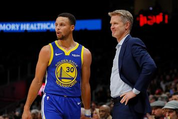 Steph Curry Misses Game With Illness, Steve Kerr Reacts