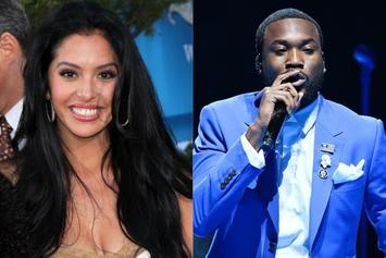 Meek Mill Ripped Apart On Twitter After Vanessa Bryant Checks Him