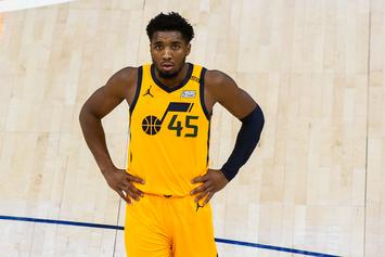 """Donovan Mitchell Reacts To LeBron James' Comments on Jazz: """"I Really Don't Care"""""""