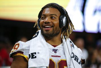 Derrius Guice Accused By 74-Year-Old Woman Of Sexual Assault