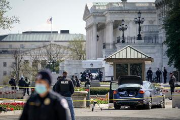 Capitol Officer Killed, 1 Injured After Suspect Rams Car Into Police Barricade: Report