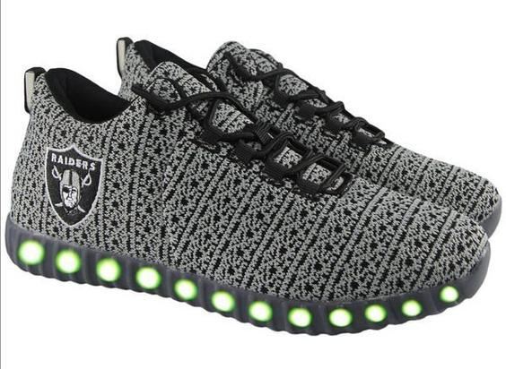 aabc7d2d064 NFL Teams Selling Yeezy Inspired Light-Up Sneakers