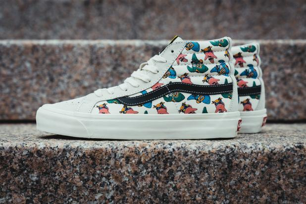 4e6ff01e07a368 Vans x SpongeBob SquarePants Collection  New Images