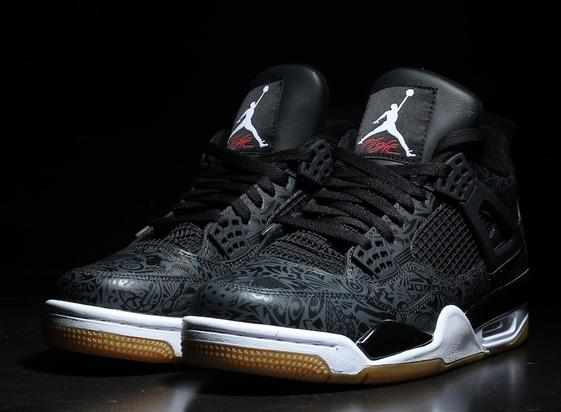 """651a2eb6d2e936 Black """"Laser"""" Air Jordan 4 Releasing In January  New Images"""