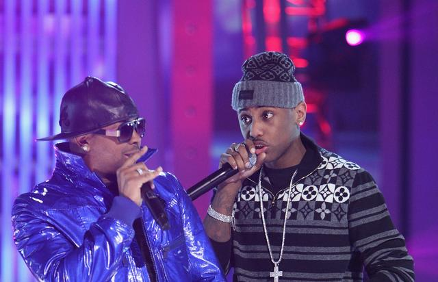 Fabolous and The-Dream in 2009