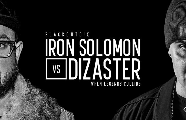 Iron Solomon vs Dizaster