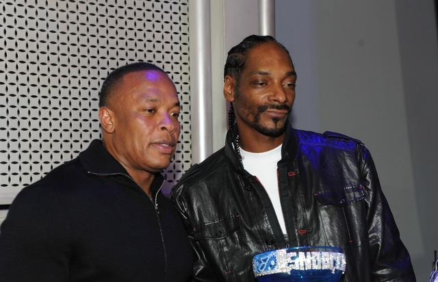 Snoop Dogg and Dr. Dre  2011