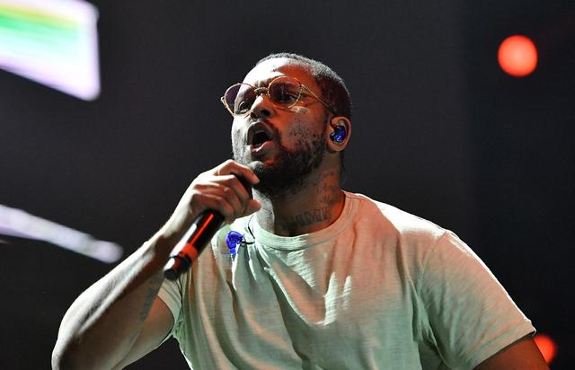 Schoolboy Q performing at Tyler, the Creator's 5th Annual Camp Flog Gnaw Carnival