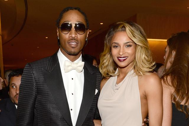 Ciara Future The 55th Annual GRAMMY Awards
