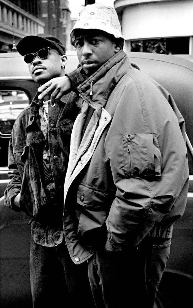 Guru and DJ Premier of Gang Starr