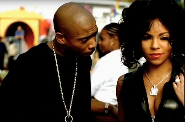 "Ja Rule & Ashanti in ""Mesmerize"""