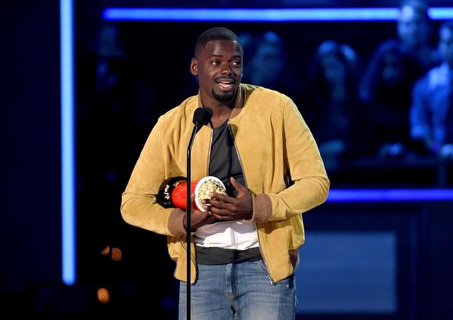 Daniel Kaluuya at MTV Movie and TV awards 2017