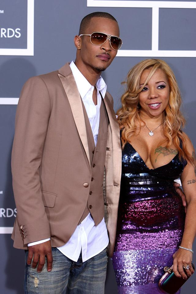 T.I. & Tiny attend The Grammys