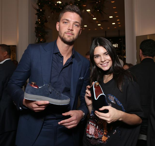 Kendall Jenner & Chandler Parsons at Saks event