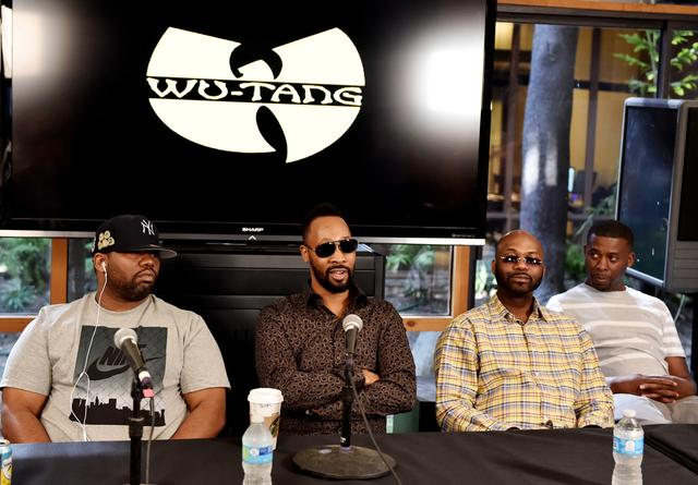 Wu-Tang Clan press conference