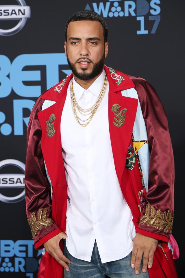French Montana at the BET Awards arrivals 2017