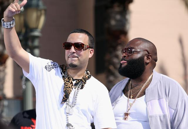 French Montana and Rick Ross at the 2012 BET Awards