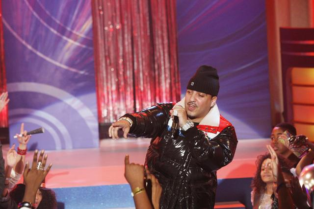 French Montana performing at BET 2011
