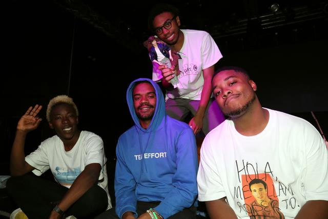BROCKHAMPTON back stage of New York Show