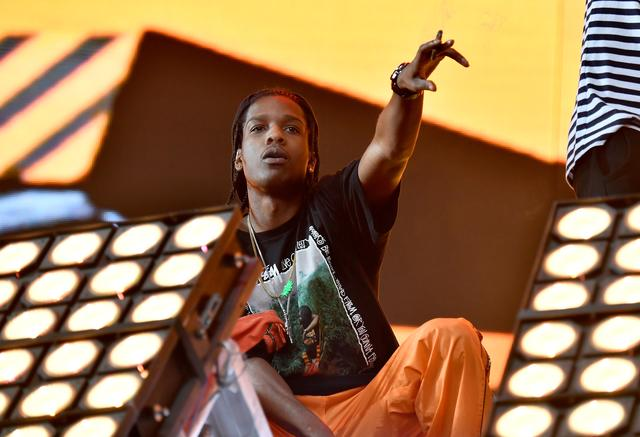 ASAP Rocky at Coachella