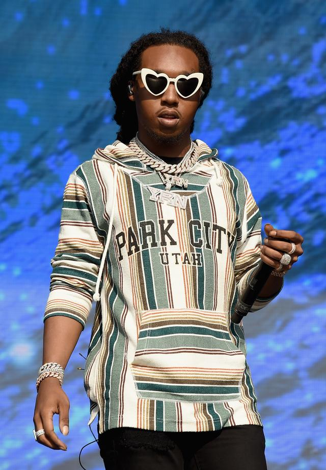 Takeoff of Migos at the Meadows 2017