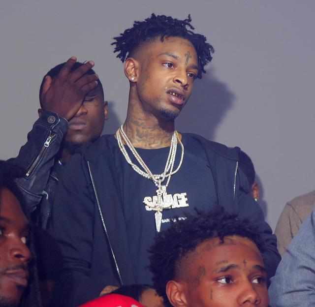 21 Savage in the club