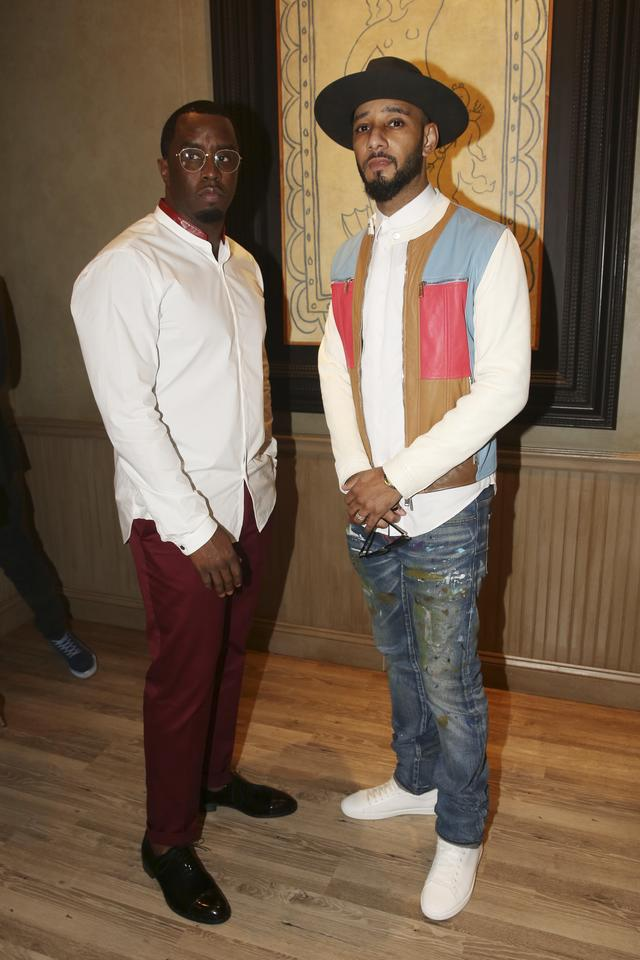 Swizz Beatz and Diddy