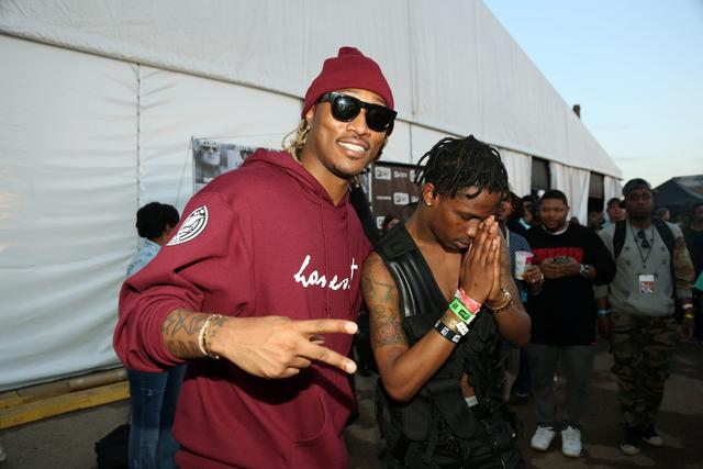 Future and Travis Scott at Fader Fort SXSW 2014
