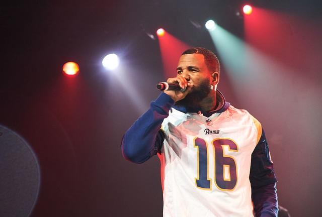 The Game performing