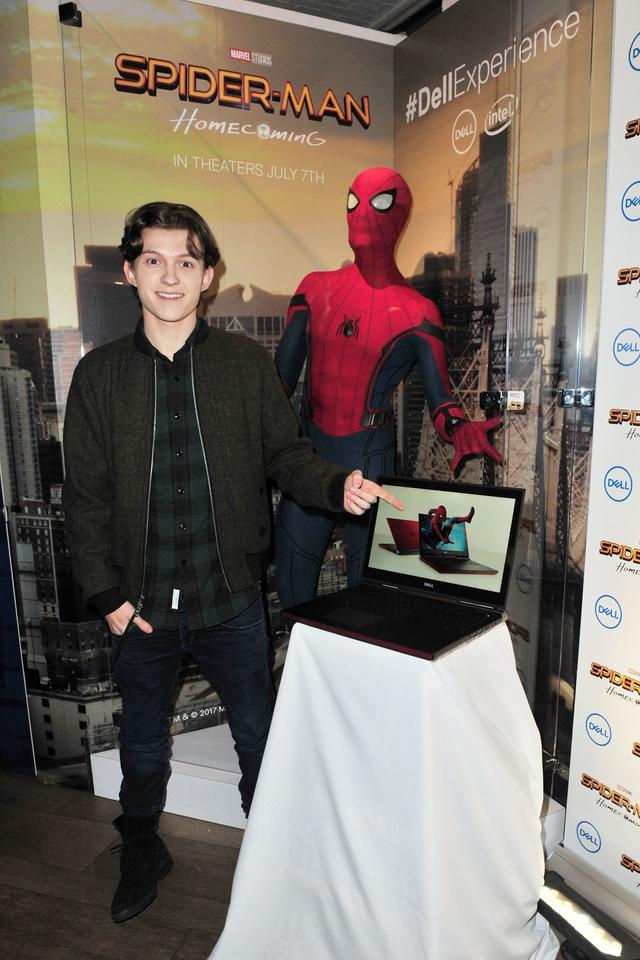 Tom Holland of the Spider-Man Homecoming film