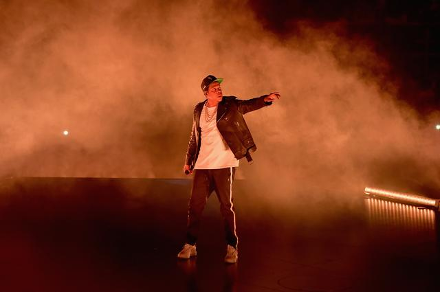 Jay-Z performing during 4:44 tour